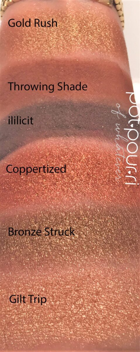 Mthrship Bronze Ambition Sublime swatches