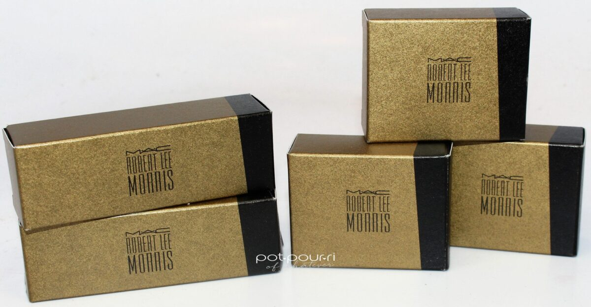 Mac X Robert Lee Morris Holiday Collaboration packaging
