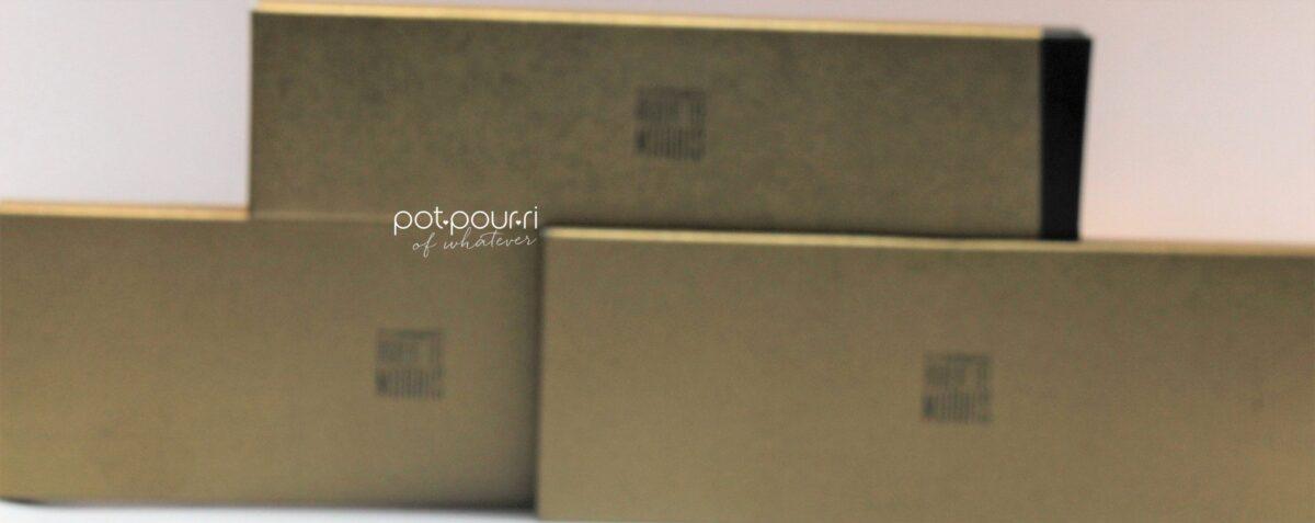 Packaging for Mac X Robert Lee Morris Makeup Brushes