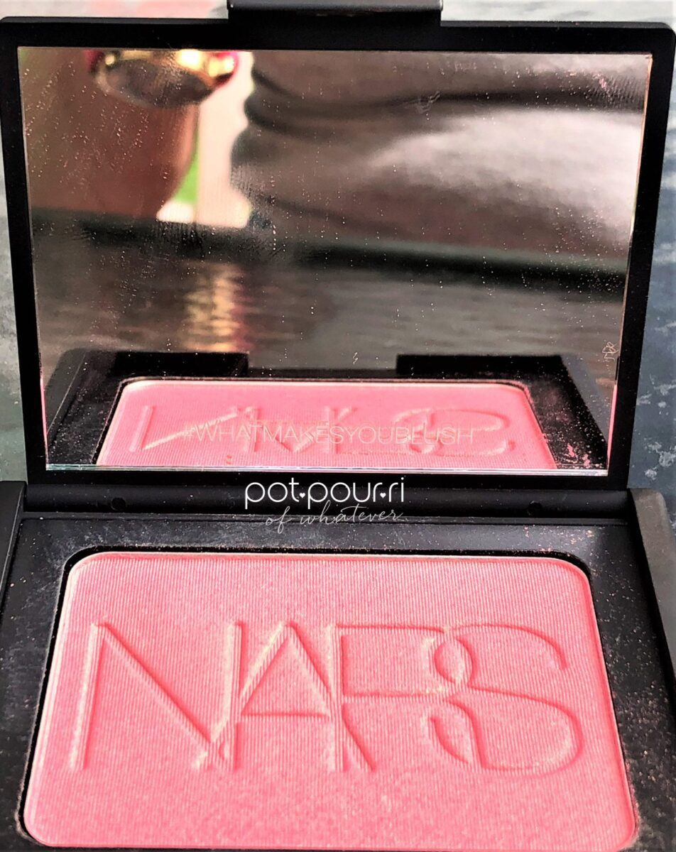 NARS 2018 ORGASM COLLECTION BLUSH WITH MIRROR AND NARS WRITTEN ON BLUSH