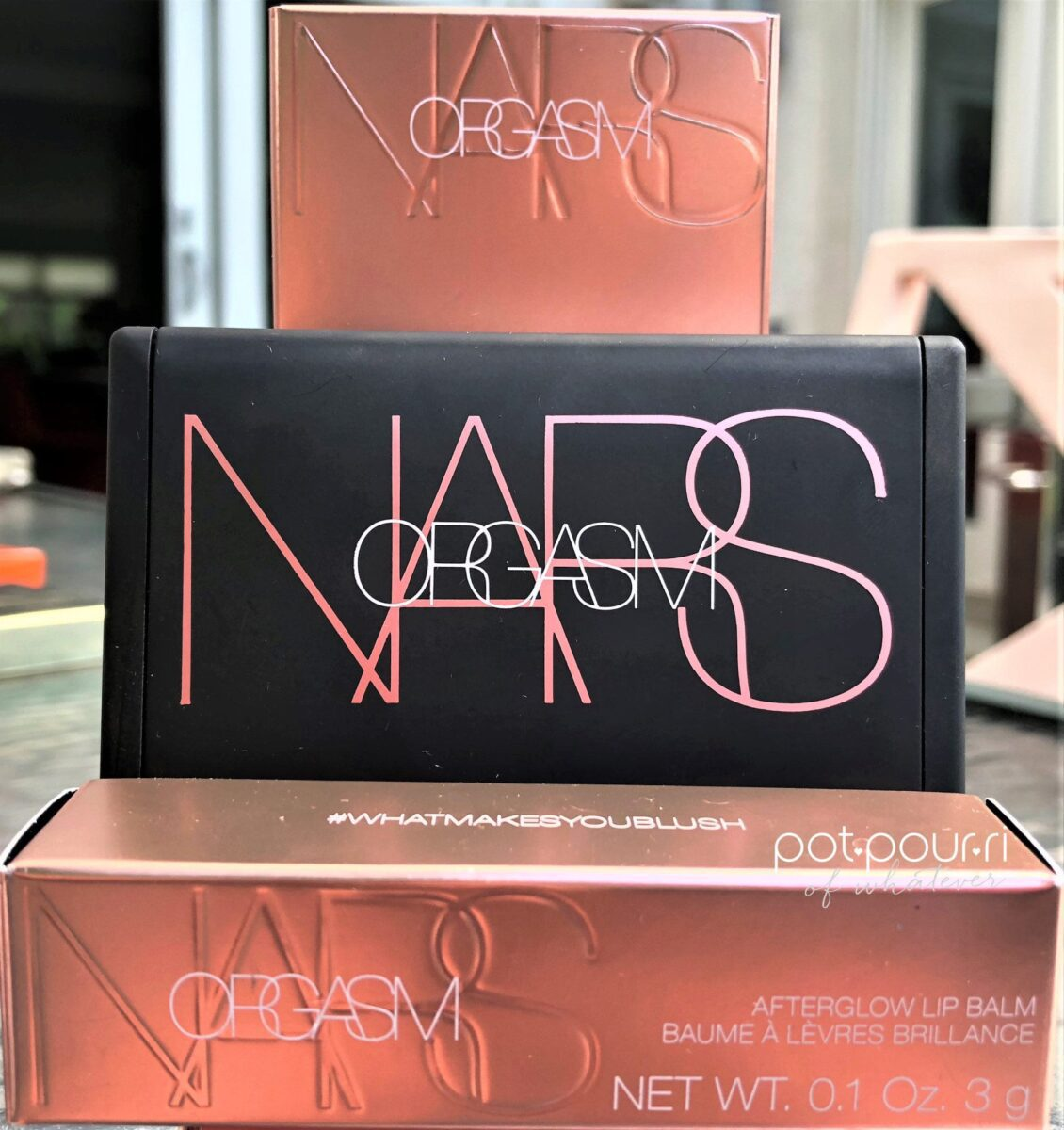 Nars 2018 Orgasm Collection Packaging
