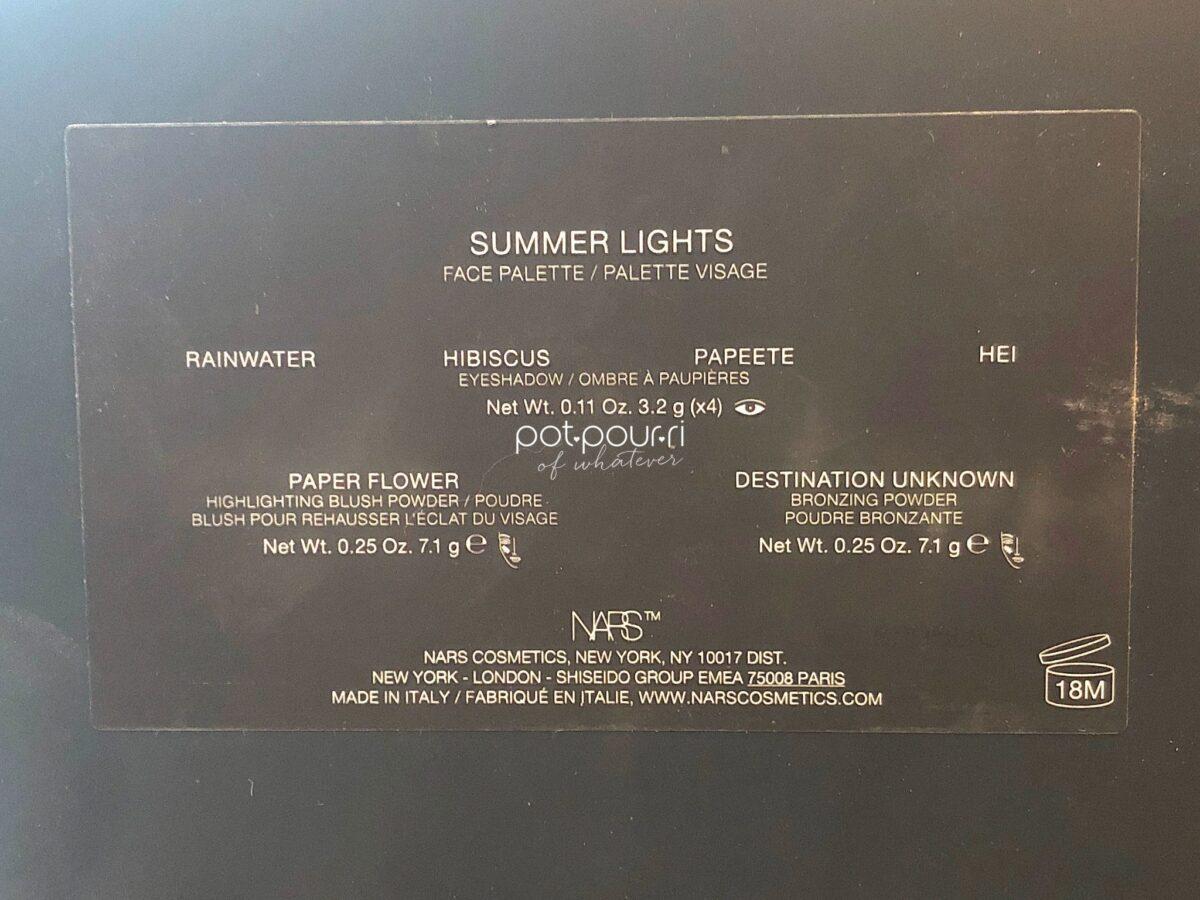 SUMMER LIGHTS SHADES