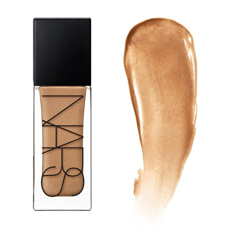 NARS TINTED GLOW BOOSTER AND SWATCH IN TANGSI