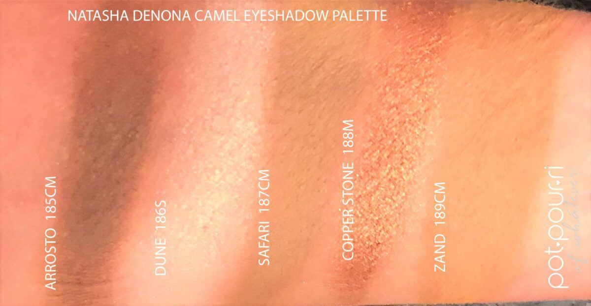 NATASHA DENONA CAMEL PALETTE INGREDIENTS