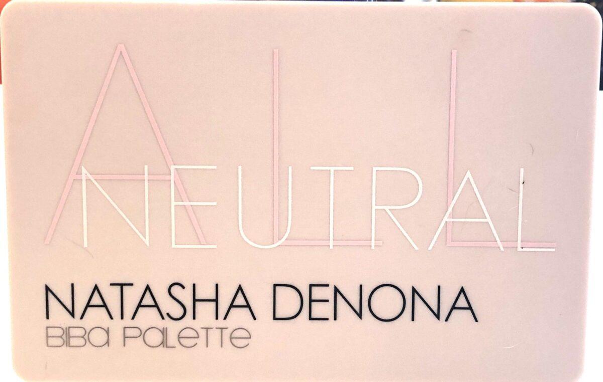 THE COMPACT FOR THE NATASHA DENONA NEUTRALS BIBA PALETTE