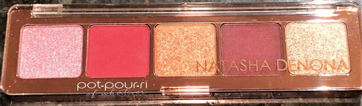 NATASHA DENONA CRANBERRY EYE SHADOW PALETTE FOR HOLIDAY 2918