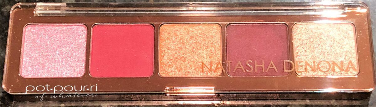NATASHA DENONA CRANBERRY EYE SHADOW PALETTE C;EAR COVER
