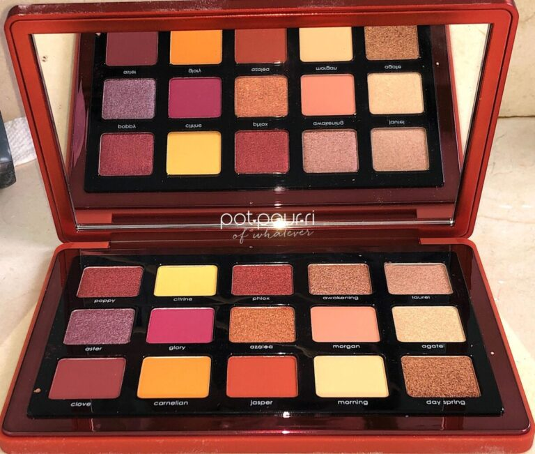 THE NATASHA DENONA SUNRISE EYESHADOW PALETTE