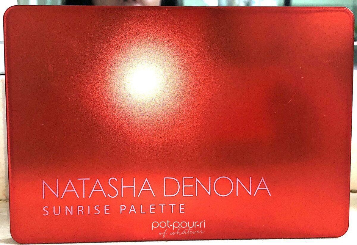 THE NATASHA DENONA SUNRISE EYESHADOW PALETTE COMPACT