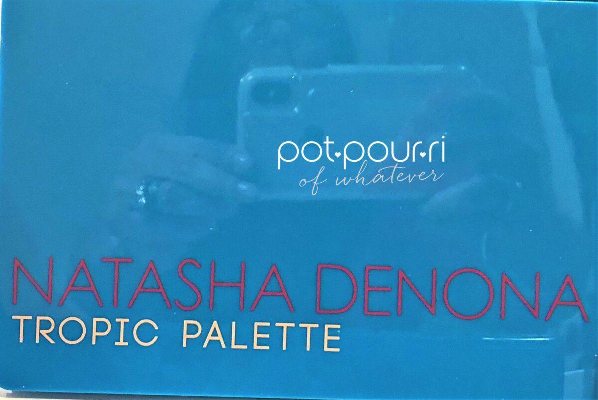 NATASHA DENONA TROPIC PALETTE MEDITERRANEAN BLUE COMPACT