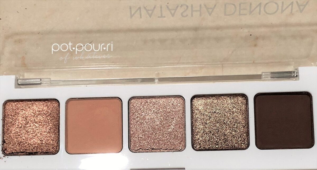 NATASHA DENONA MINI NUDE PALETTE FIVE SHADES
