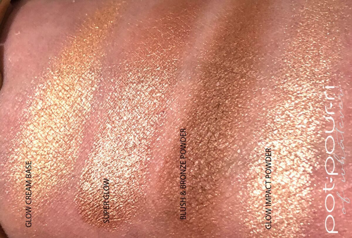 ND TAN FACE PALETTE BRONZE & GLOW SWATCHES