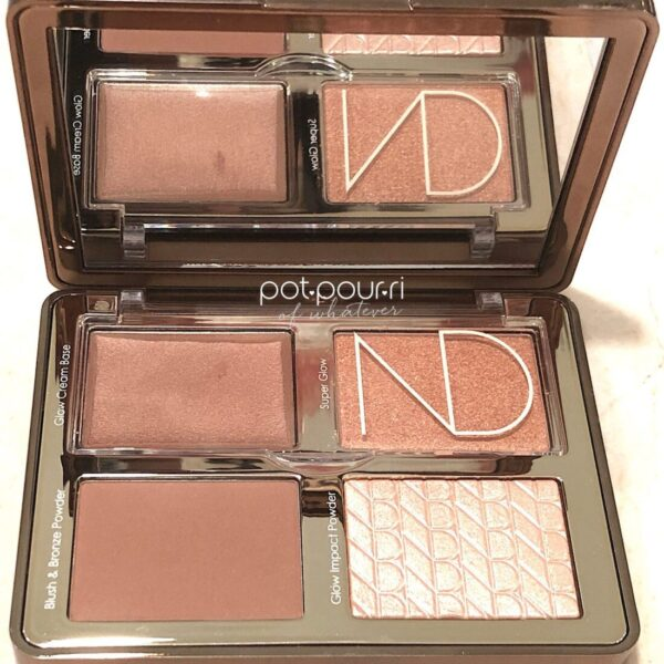 ND BRONZE & GLOW TAN FACE PALETTE