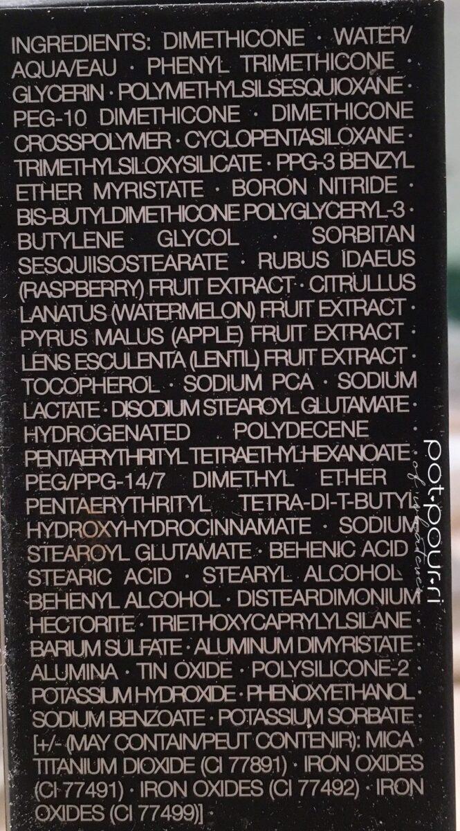 Nars-natural radiant longwear foundation ingredients
