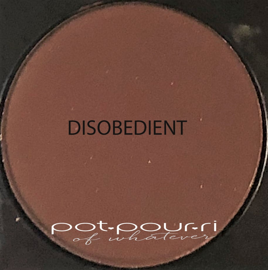 SAMPLE FOR DISOBEDIENT