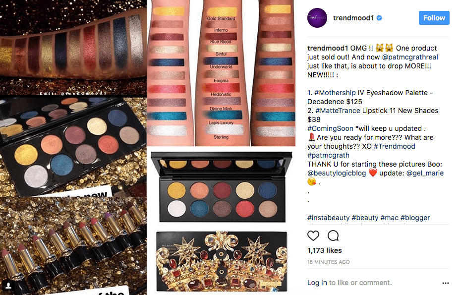 Pat-mcgrath mothership palette-swatches-and eleven new lipstick shades released in matte trance formula