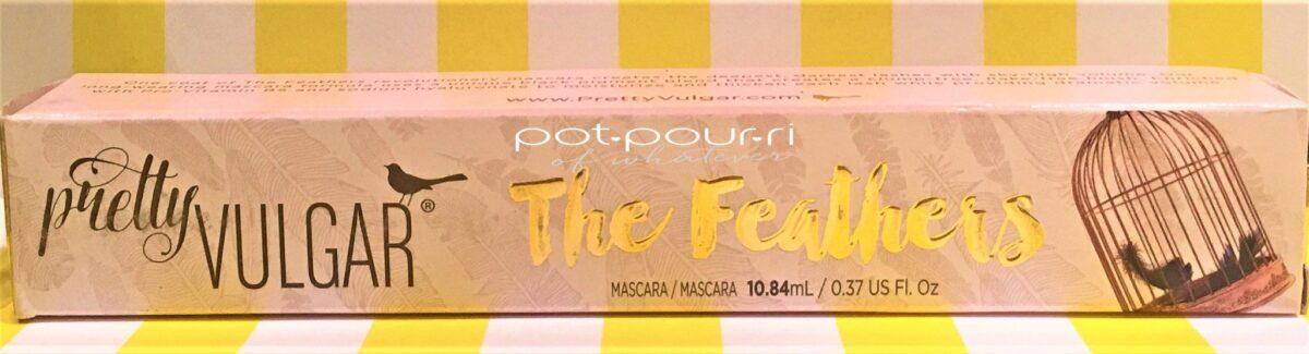 Pretty Vulgar Feathers Mascara packaging