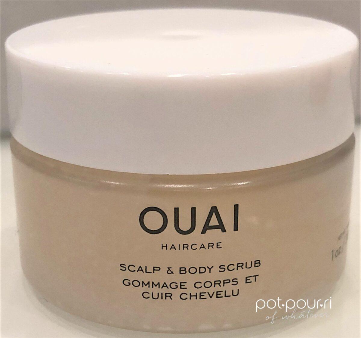 QUAI SCALP AND BODY SCRUB