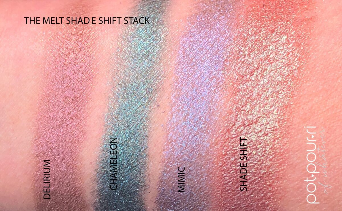 THE SHADE SHIFTER SWATCHES