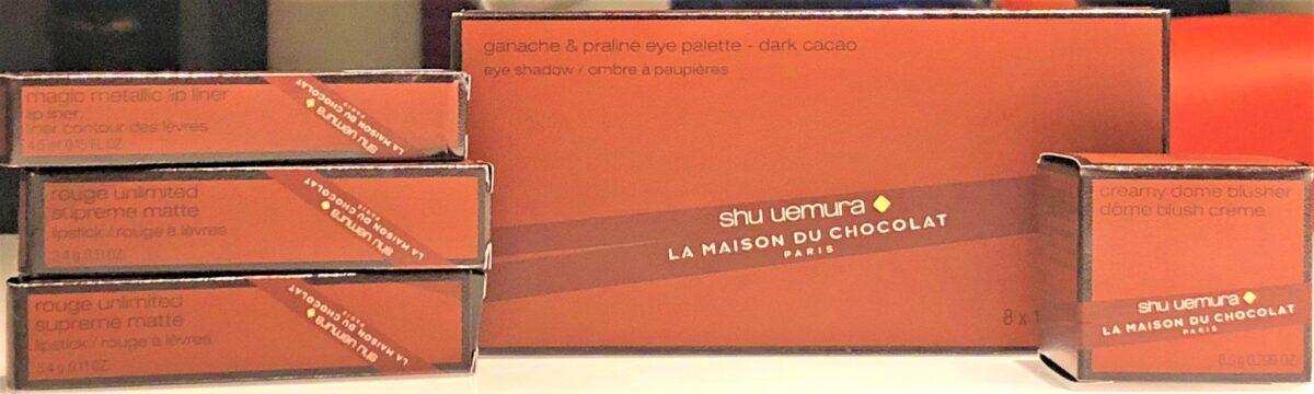 SHU UEMURA X LA MAISON DU CHOCOLATE PACKAGING