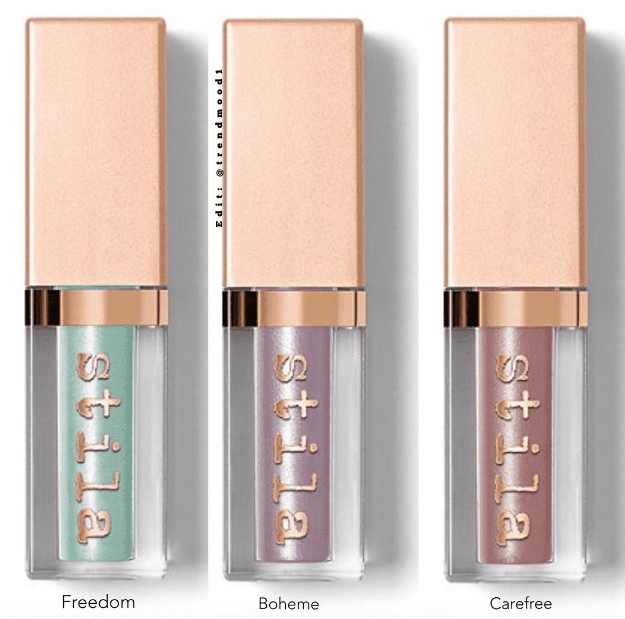 Stila-Shimmr-and-glow-new-spring-eyeshadow-liquid-shades-Freedom-Boheme-Carefree