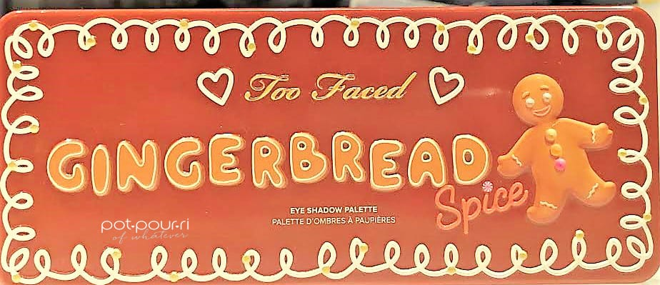 TOO FACED GINGERBREAD SPICE EYE SHADOW PALETTE TIN COMPACT