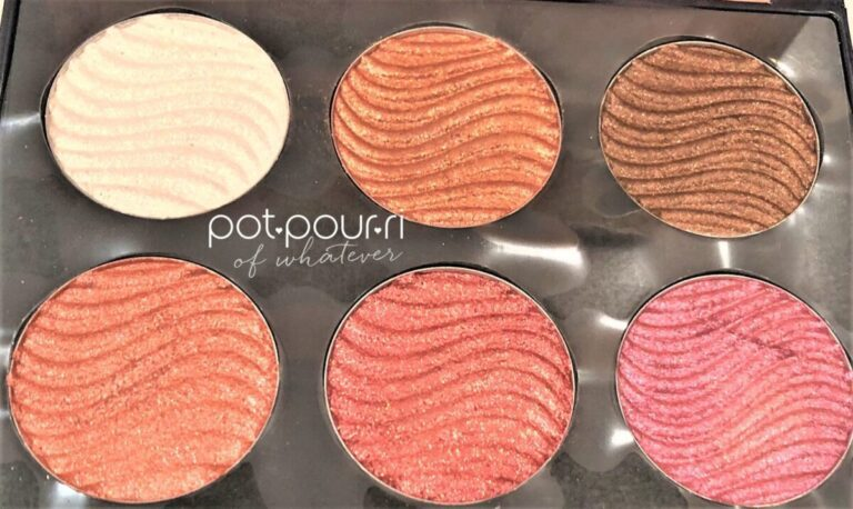 METALLIST BOUNCY CREAM SHADOW PALETTE SIX HIGH SHINE SHADES