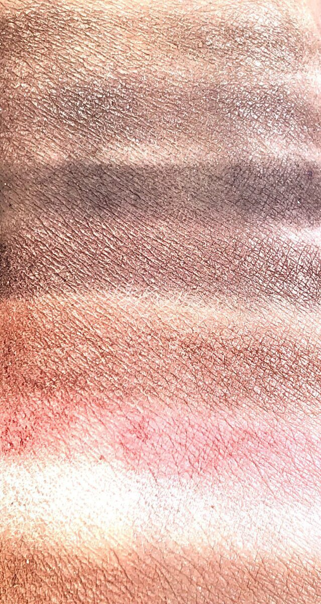 SWATCHES OF THE EIGHT SHADES