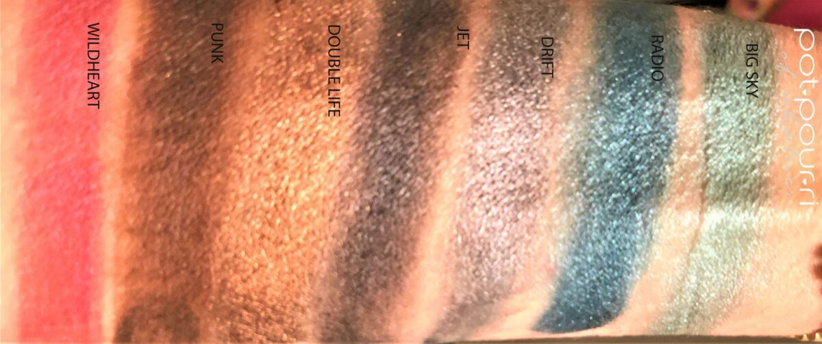 SWATCHES OF ROW THREE