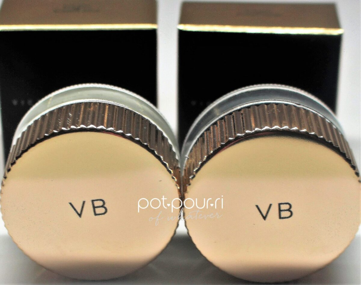 Victoria Beckham Estee Lauder eye foil shadow pots are new this year