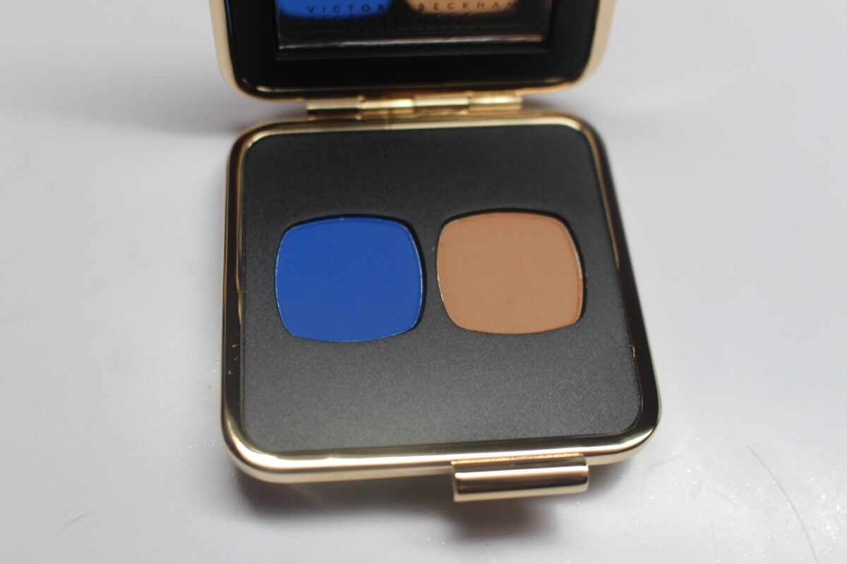 electric blue /camel duo
