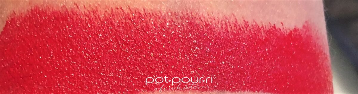 SWATCH #1 LE ROUGE BLOOD RED