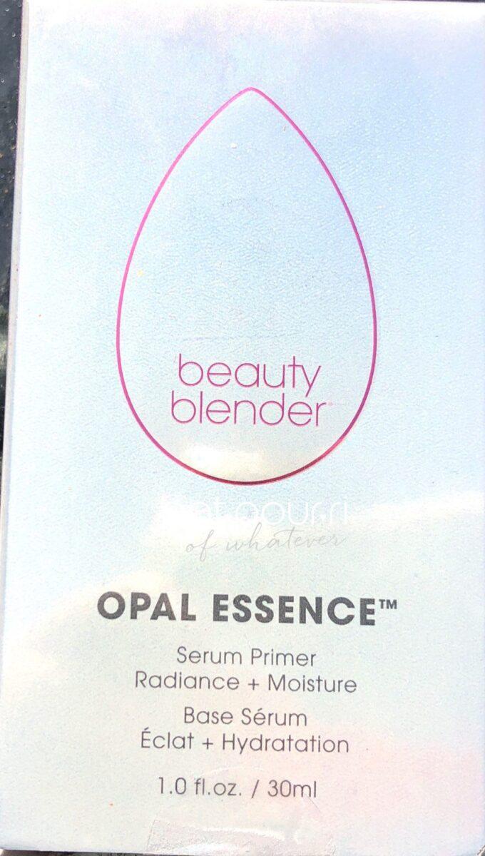 Packaging for Beauty Blender Opal Essence Primer