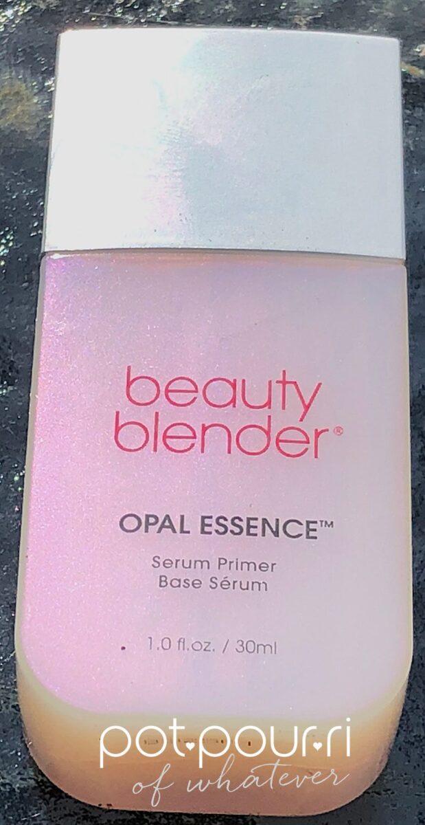 Beauty Blender Opal Essence Primer comes in a frosted bottle