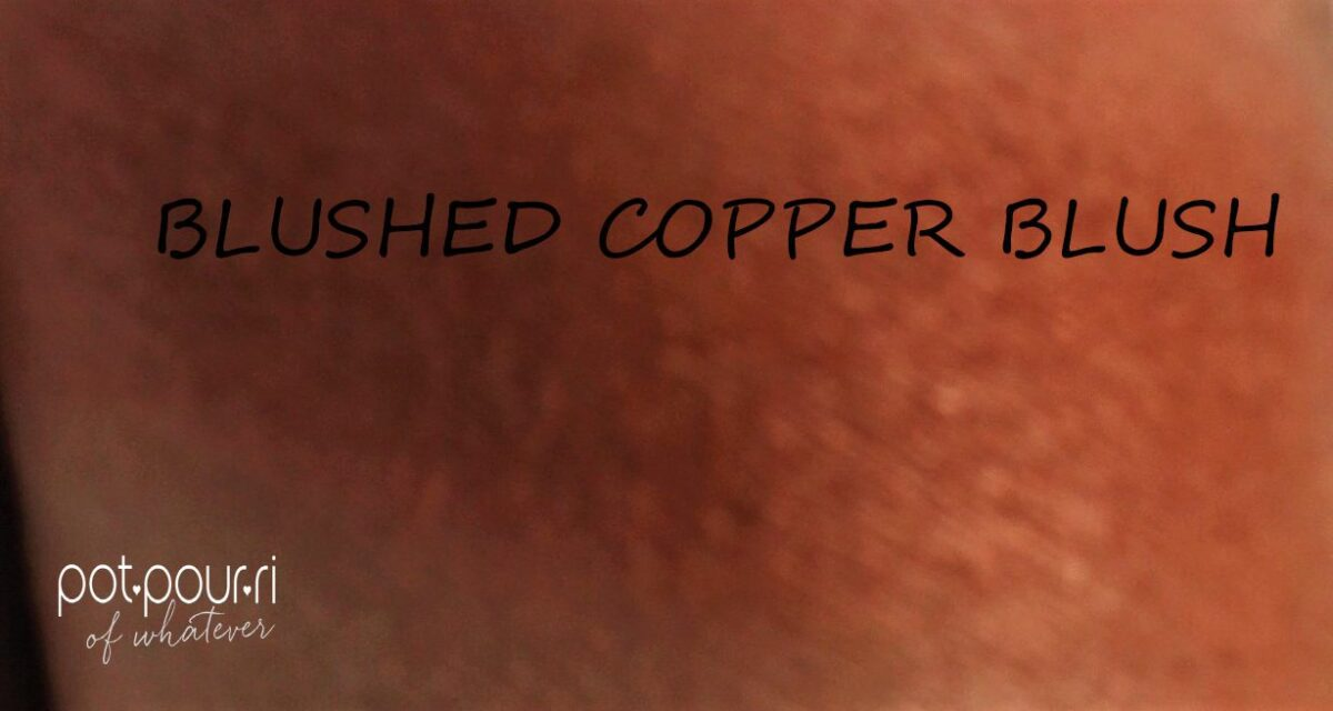 swatch Blushed  Copper