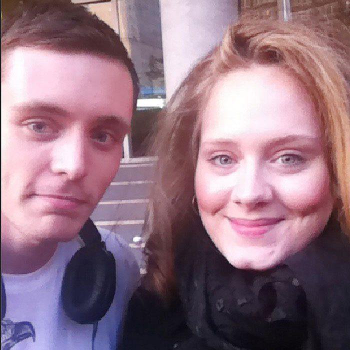 Adele No Makeup Selfie Saubhaya Makeup