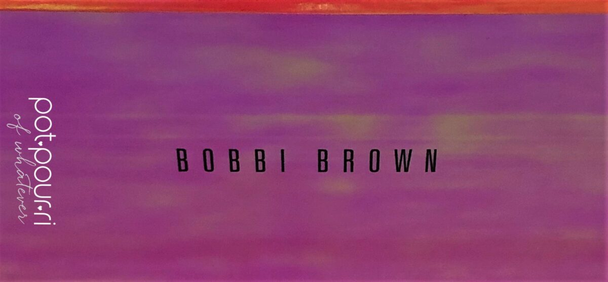 BOBBI BROWN INFRA-RED EYE SHADOW COMPACT MOVE IT AND IT CHANGES COLOR