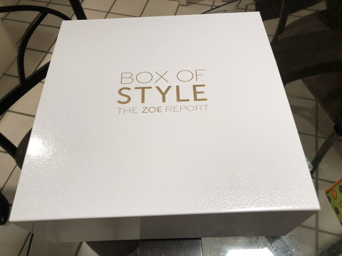 RACHEL ZOE BOX OF STYLE SPRING 2018 BOX