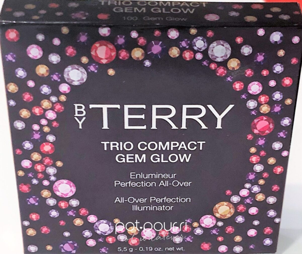 BY tERRY pACKAGING BOX GLOW GEMS TRIO COMPACT