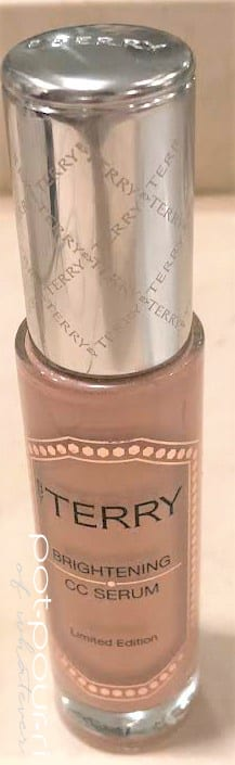 BYTERRY GEM GLOW BRIGHTENING SERUM BOTTLE WITH EMBOSSED SILVER LID BYTERRY