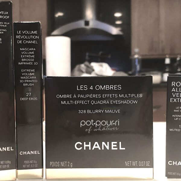 CHANEL BLURRY EYE COLLECTION OUTER PACKAGING