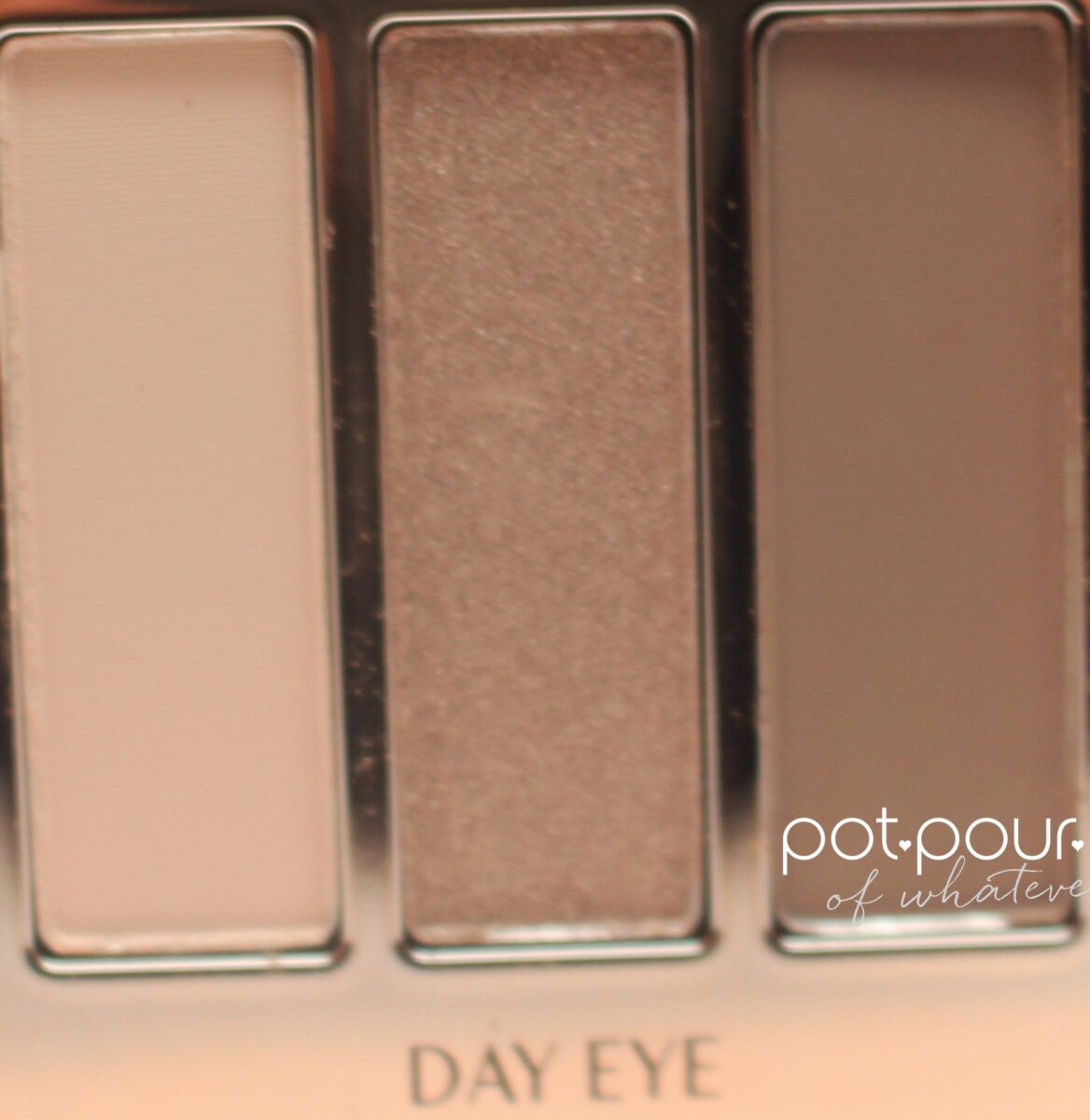 Instant Eye Palette 3 day shades