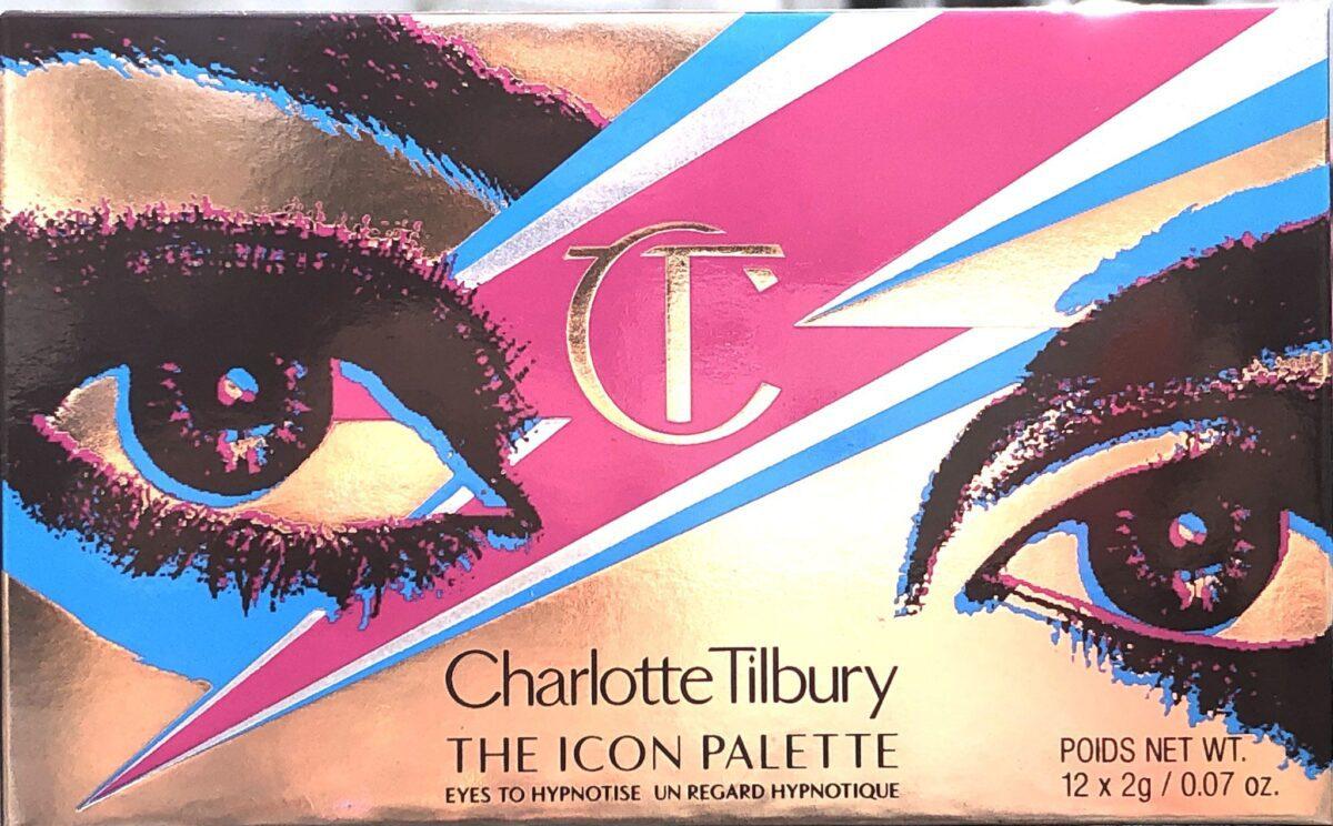 CHARLOTTE TILBURY ICONIC EYESHADOW PALETTE PACKAGING BOX
