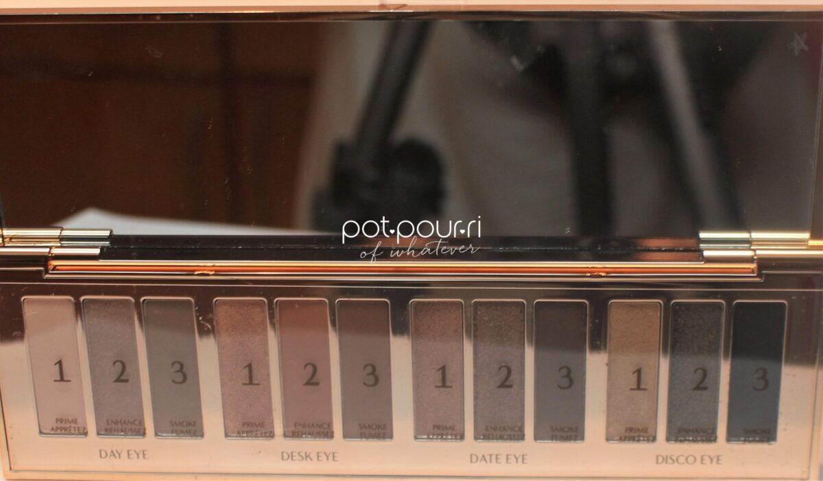 12 shadows equal 4 looks in The Instant Eye Palette from Charlotte Tilbury
