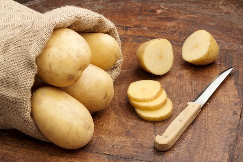 dark circles potatoes