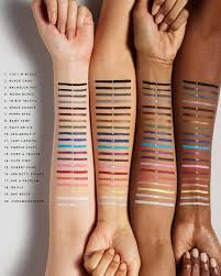 MORE FENTY BEAUTY FLYPENCIL SWATCHES - PHOTO COURTESY OF FENTY BEAUTY, NO COPYRIGHT INFRINGEMENT INTENDED