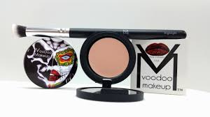 VOODOO MAKEUP COCONUT CREAM MAKEUP AND VOODOO FOUNDATION BRUSH