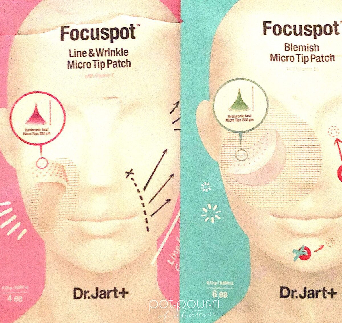 DR JART MICRO-TIP PATCH POUCH-PACKAGING