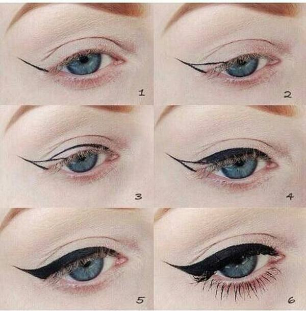 how to do a graphic eye
