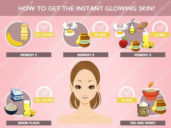 glowing-skin-How-to-get-the-instant-glowing-skin